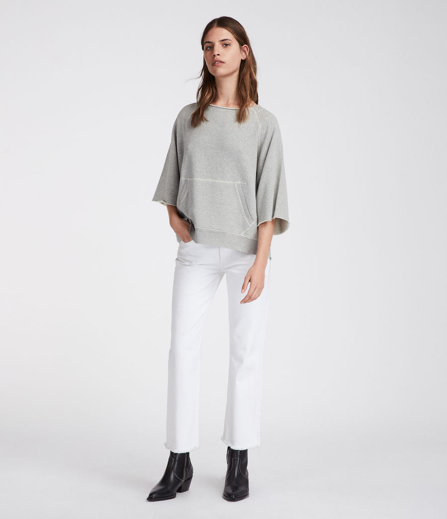 Women's Mila Sweatshirt (grey_marl) - Image 1