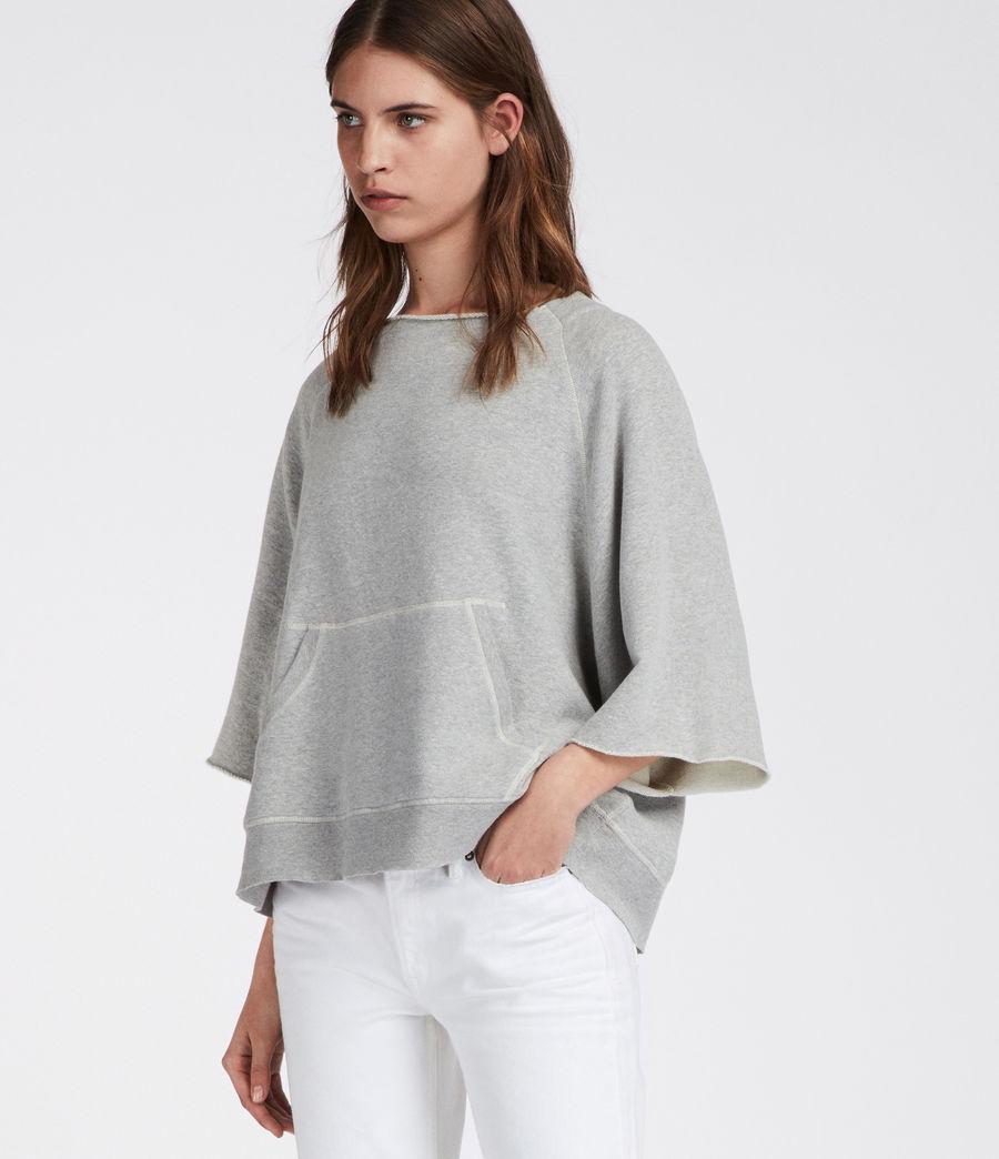 Women's Mila Sweatshirt (grey_marl) - Image 2