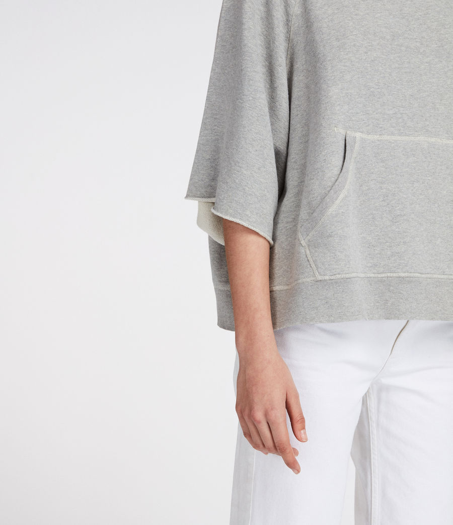 Women's Mila Sweat (grey_marl) - Image 3