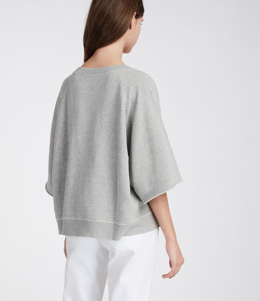 Women's Mila Sweatshirt (grey_marl) - Image 4