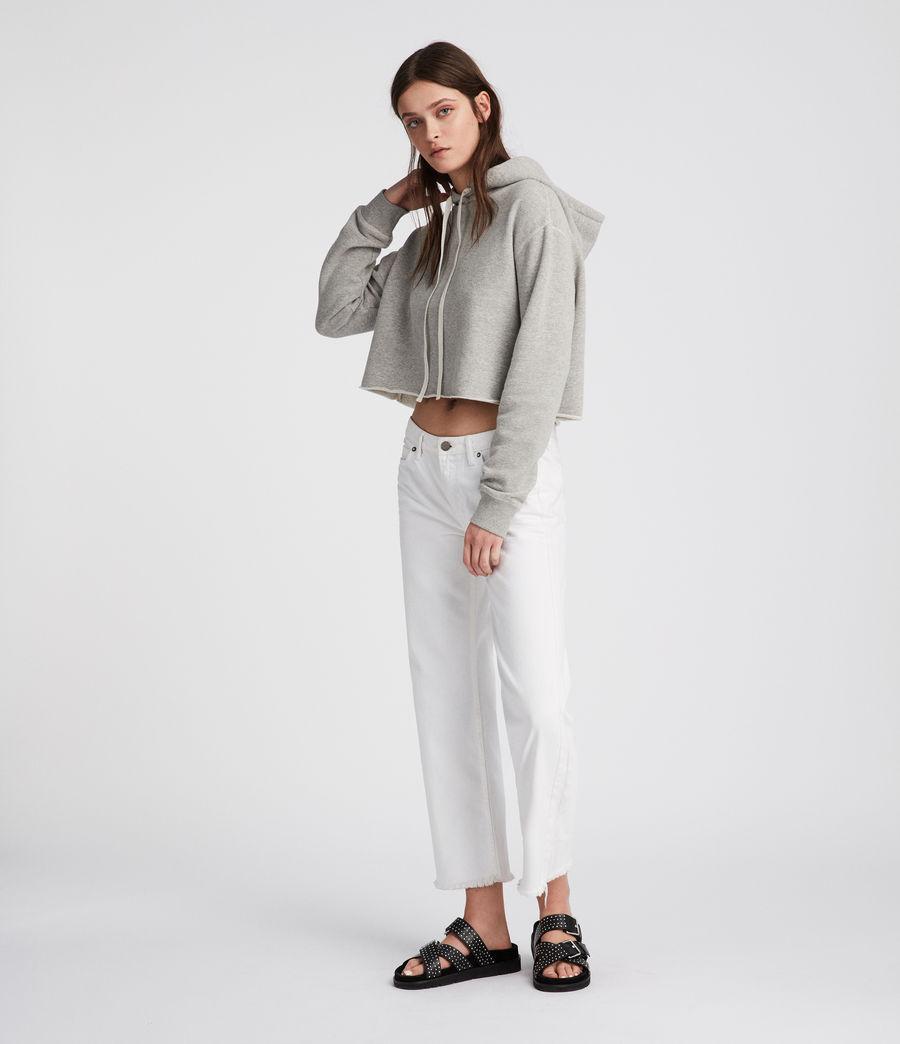 Mujer Sudadera con capucha Mila (grey_marl) - Image 1