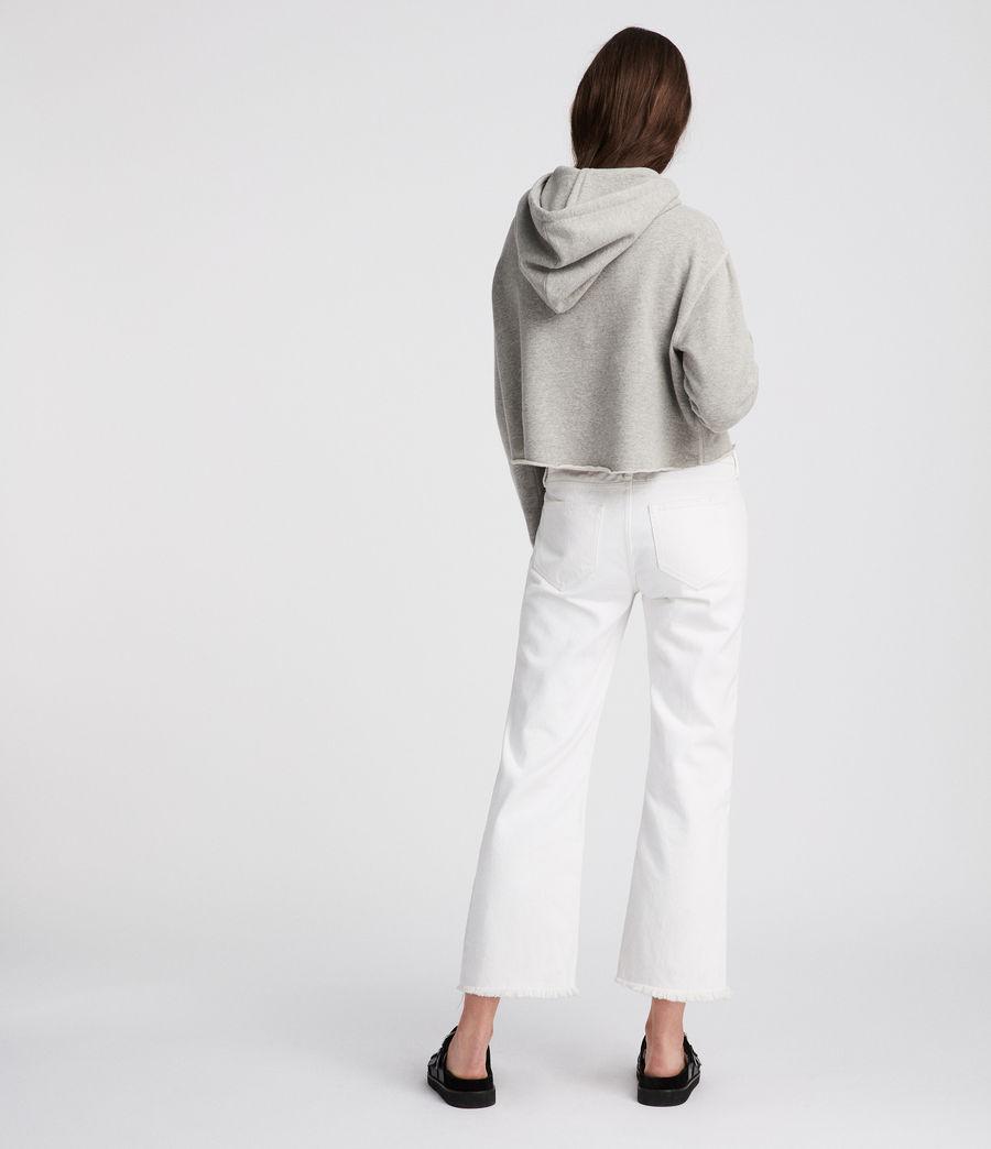 Mujer Sudadera con capucha Mila (grey_marl) - Image 4