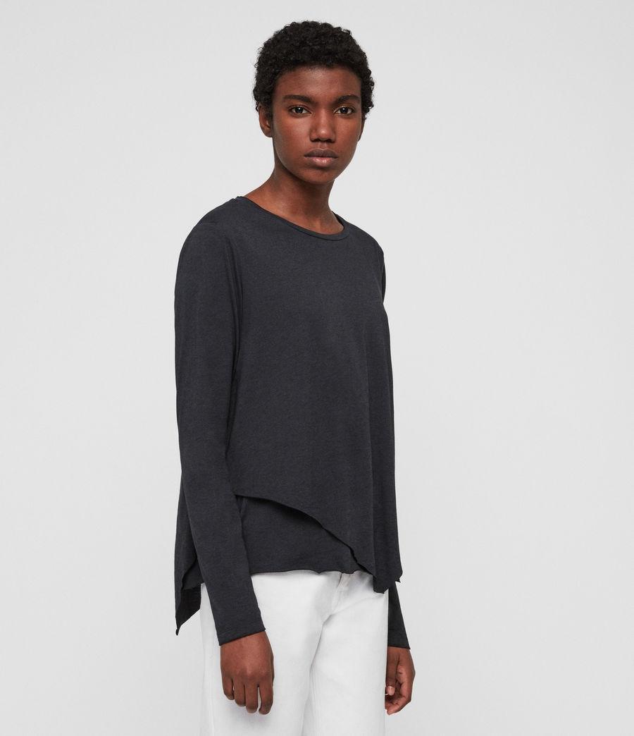 Women's Daisy T-Shirt (dark_night_blue) - Image 2