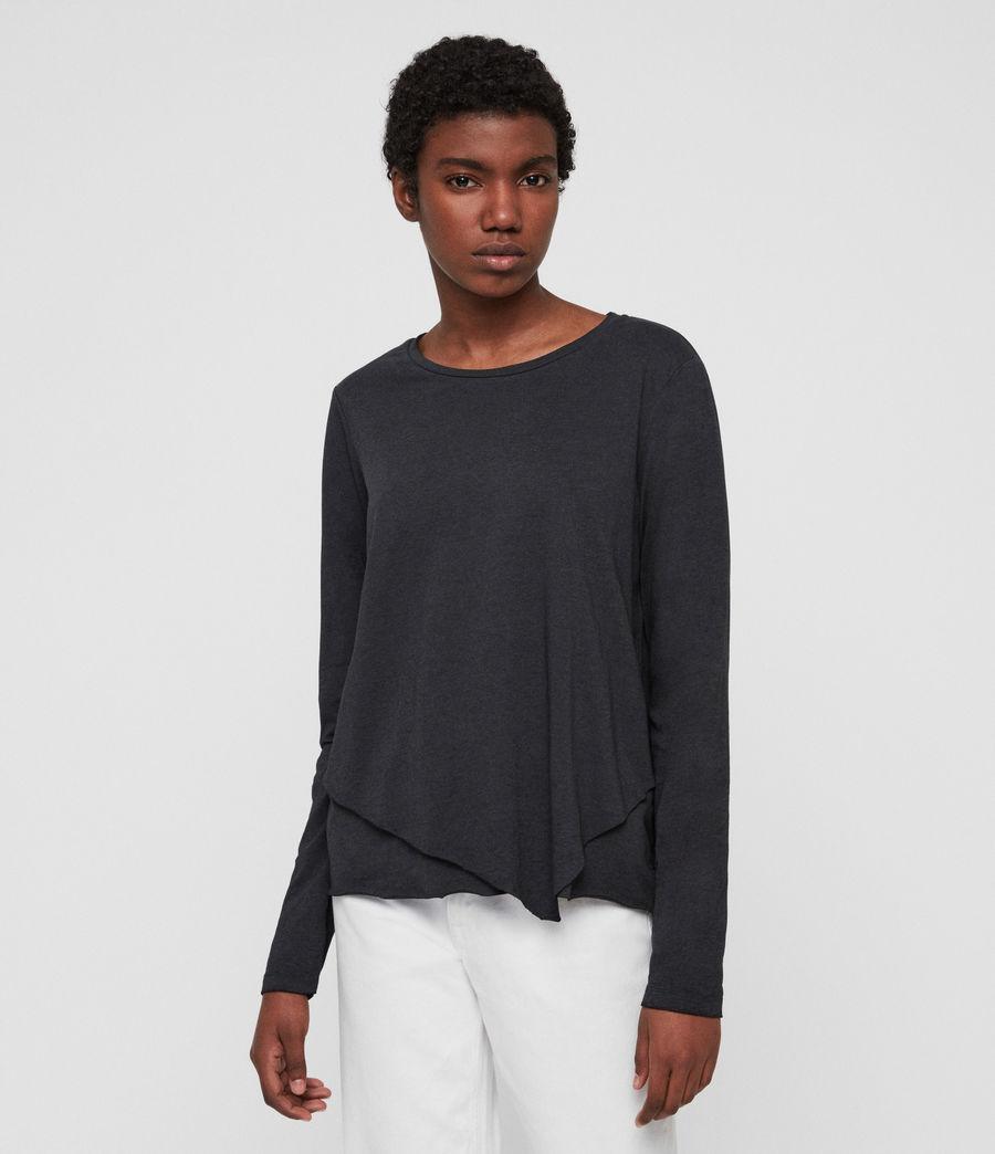 Women's Daisy T-Shirt (dark_night_blue) - Image 3