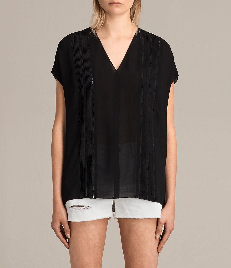 Damen Ella Top (black) - Image 1