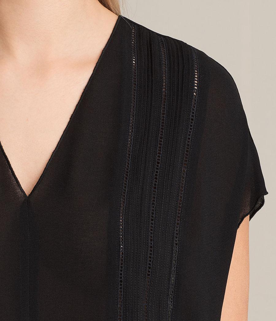 Damen Ella Top (black) - Image 2