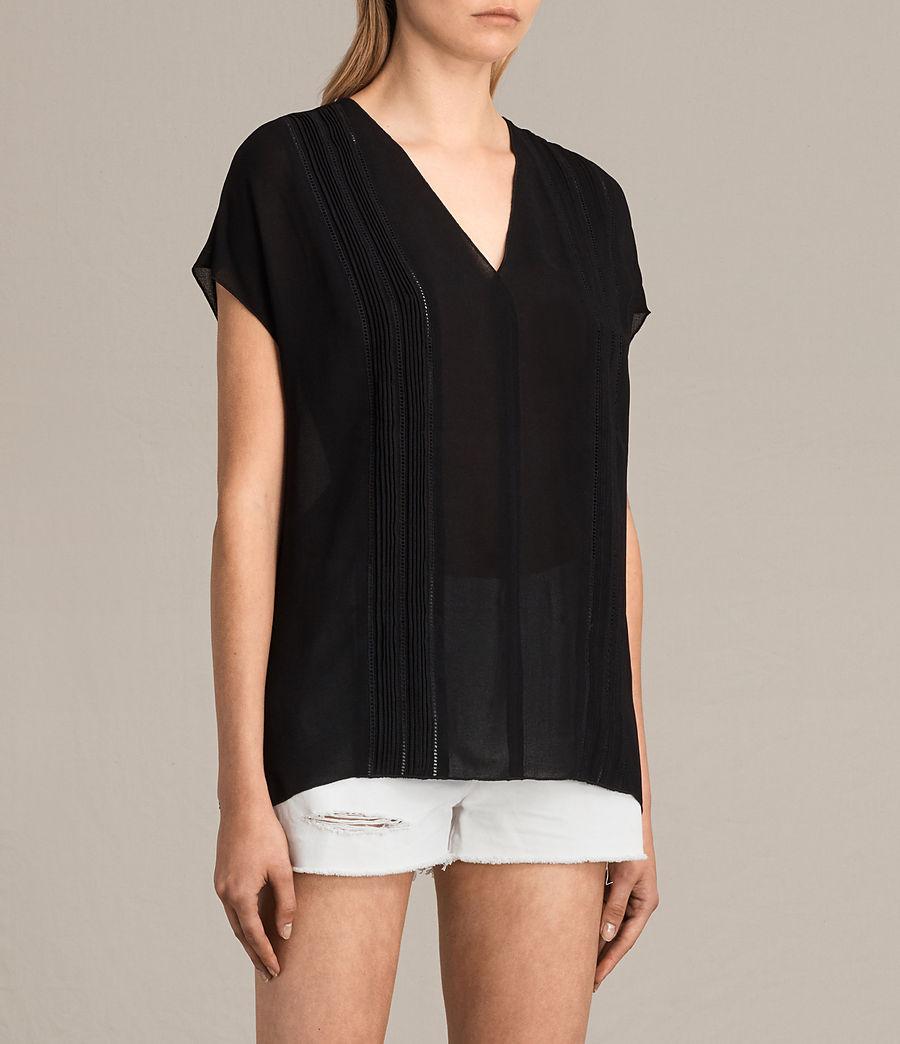 Damen Ella Top (black) - Image 3