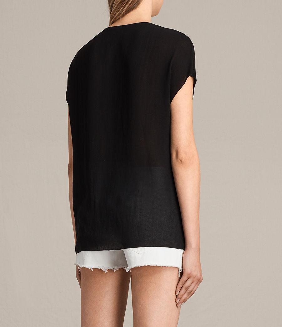 Damen Ella Top (black) - Image 4