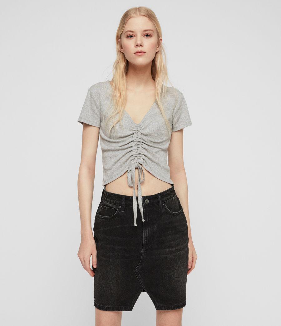Women's Rina T-Shirt (grey_marl) - Image 1