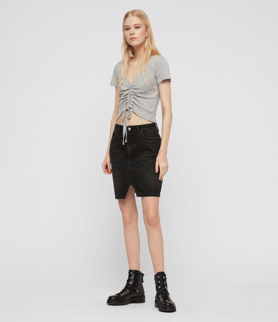 Women's Rina T-Shirt (grey_marl) - Image 3