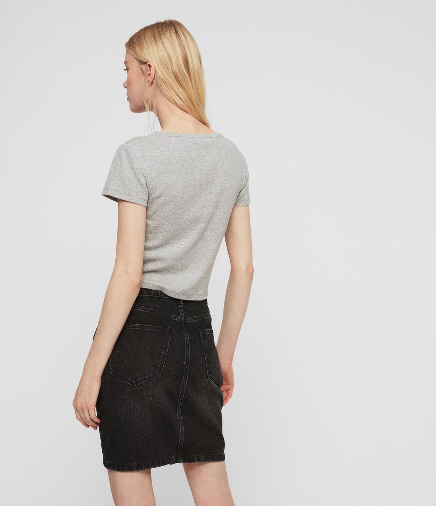 Women's Rina T-Shirt (grey_marl) - Image 4