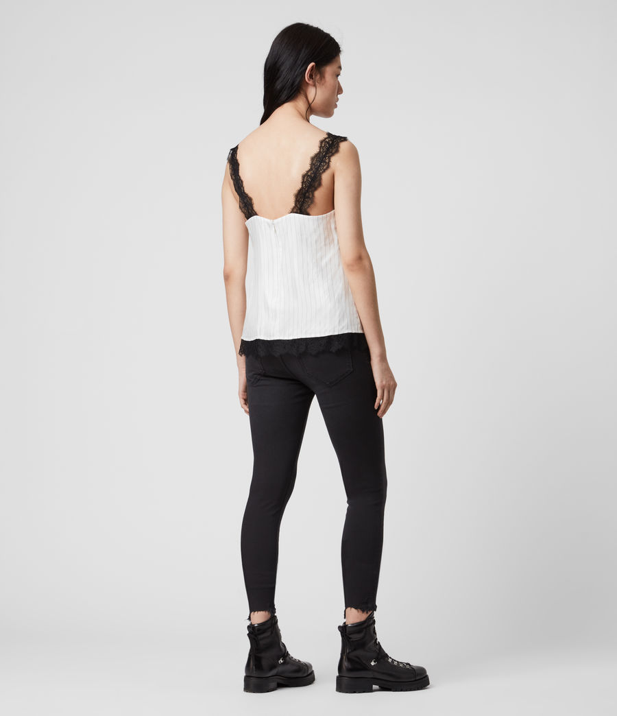 Women's Skylar Lace Top (chalk_white) - Image 5