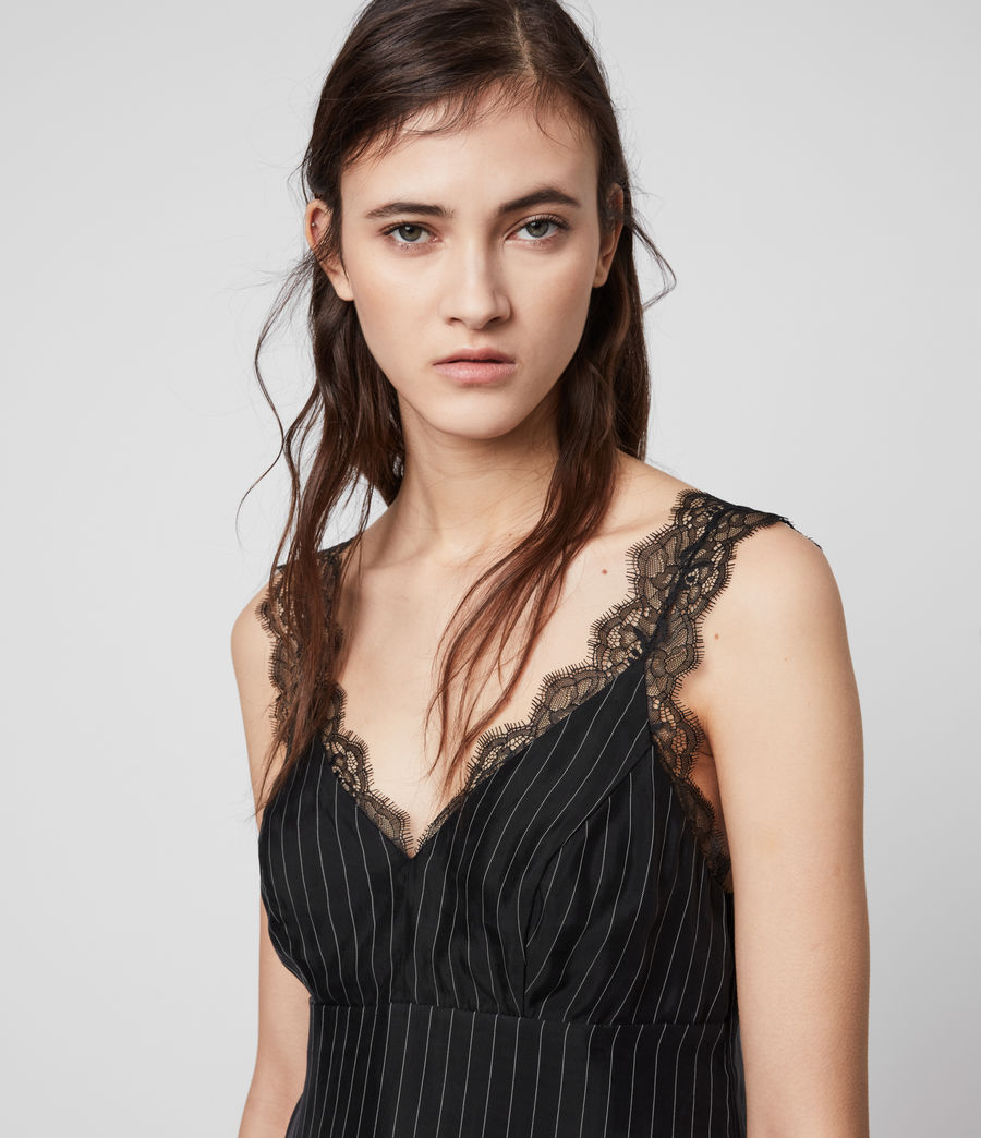 Women's Skylar Lace Top (black) - Image 2