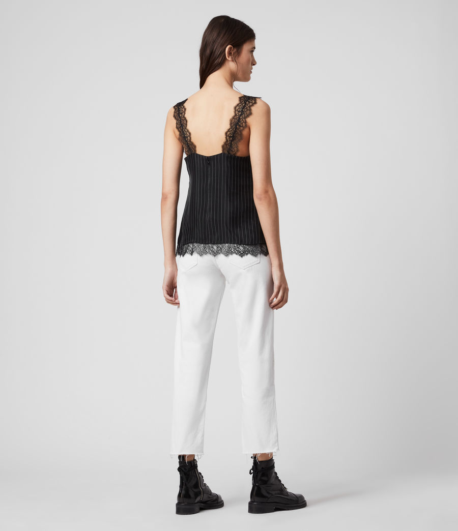 Women's Skylar Lace Top (black) - Image 4