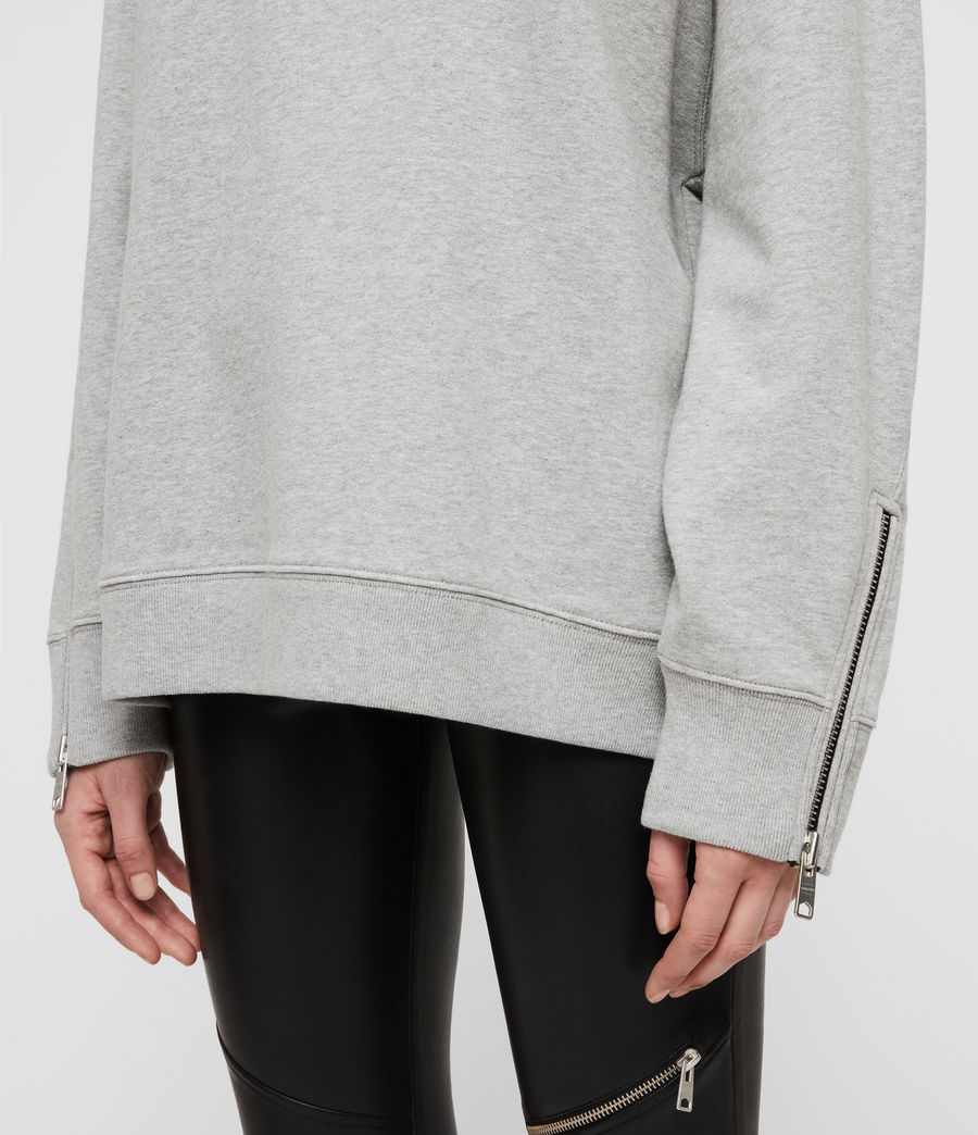 Damen Bella Sweatshirt (grey_marl) - Image 2