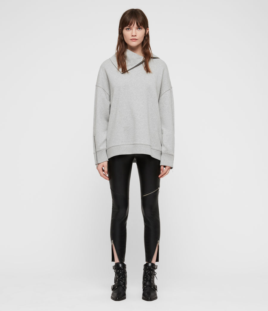 Damen Bella Sweatshirt (grey_marl) - Image 3