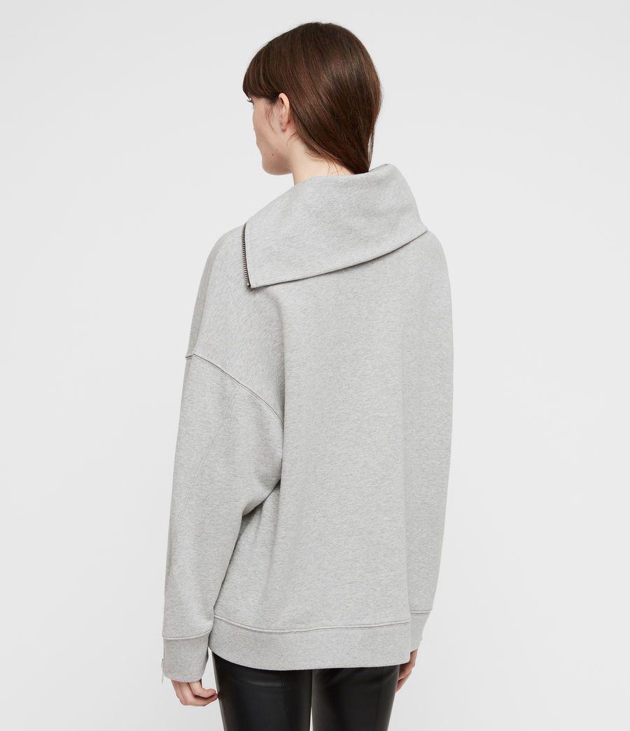 Damen Bella Sweatshirt (grey_marl) - Image 5