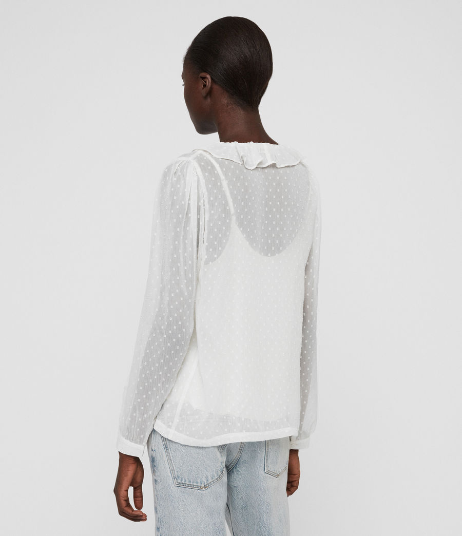 Mujer Top Ari (chalk_white) - Image 4