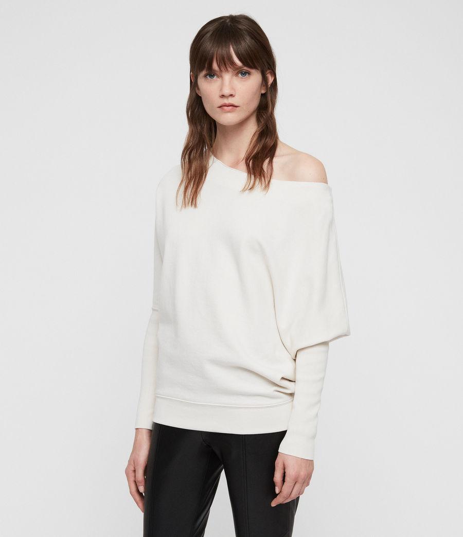 Mujer Ridley Sweatshirt (ivory_white) - Image 4
