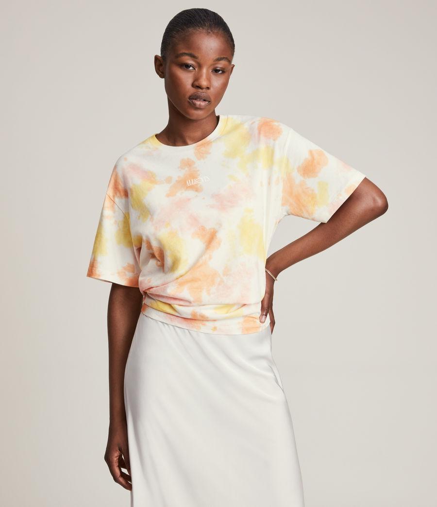 Damen We Are Pippa Batik T-Shirt (sunflower_bloom) - Image 1