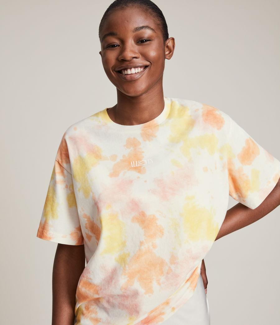 Damen We Are Pippa Batik T-Shirt (sunflower_bloom) - Image 2