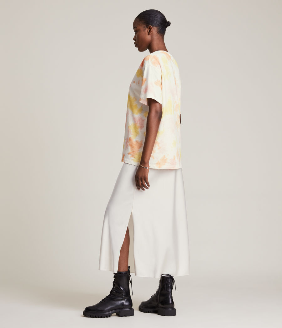 Damen We Are Pippa Batik T-Shirt (sunflower_bloom) - Image 4