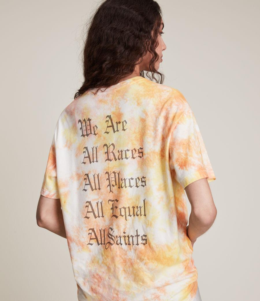 Damen We Are Pippa Batik T-Shirt (sunflower_bloom) - Image 5