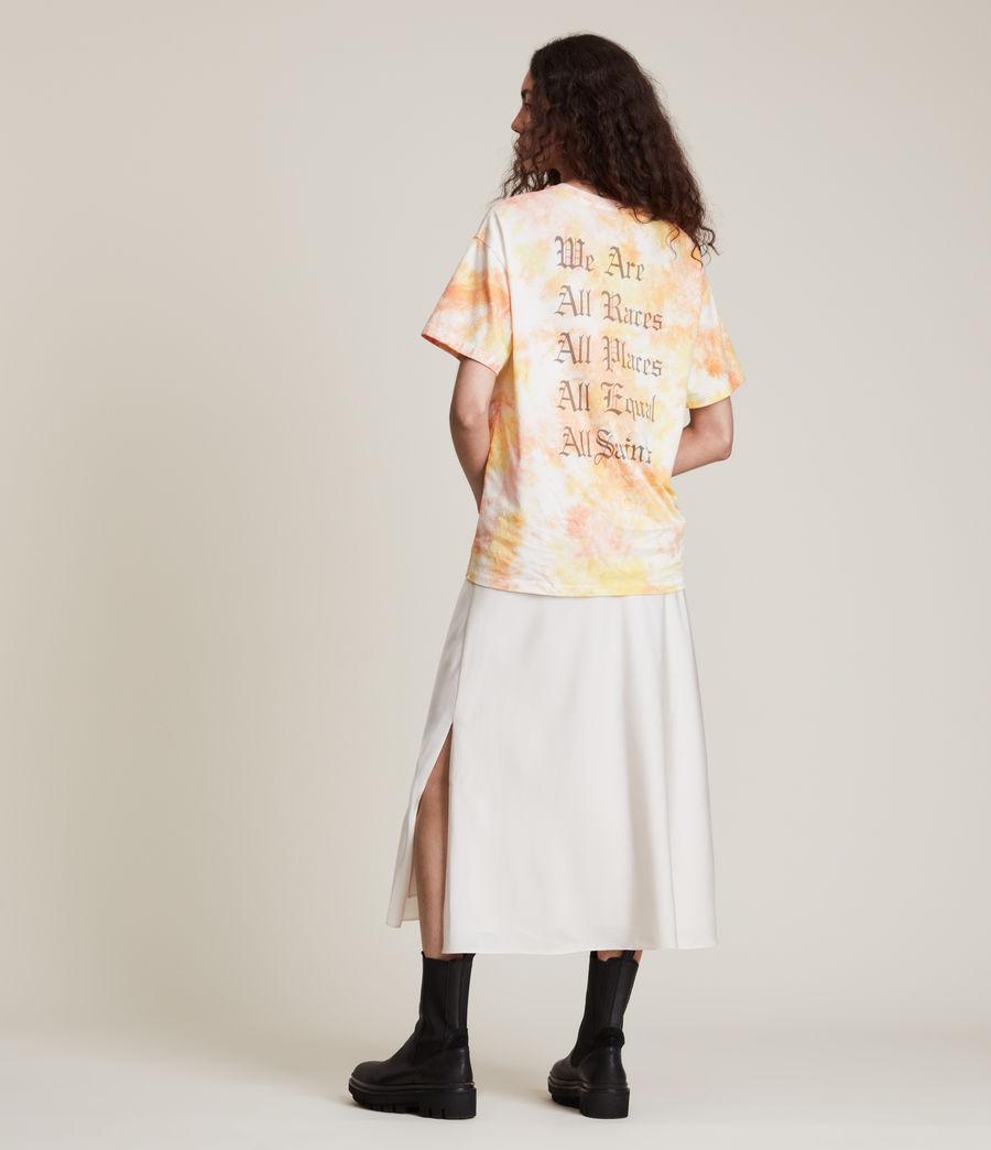 Damen We Are Pippa Batik T-Shirt (sunflower_bloom) - Image 6