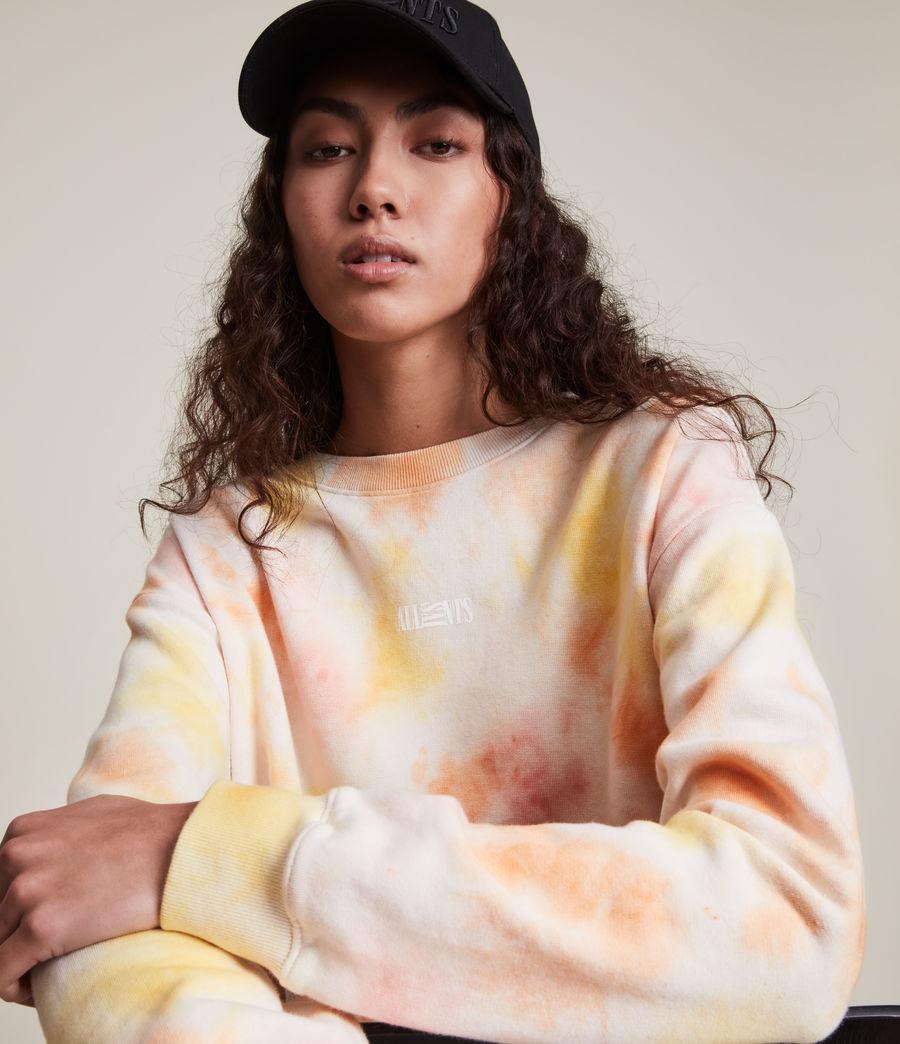 Damen We Are Pippa Tie Dye Sweatshirt (sunflower_bloom) - Image 2