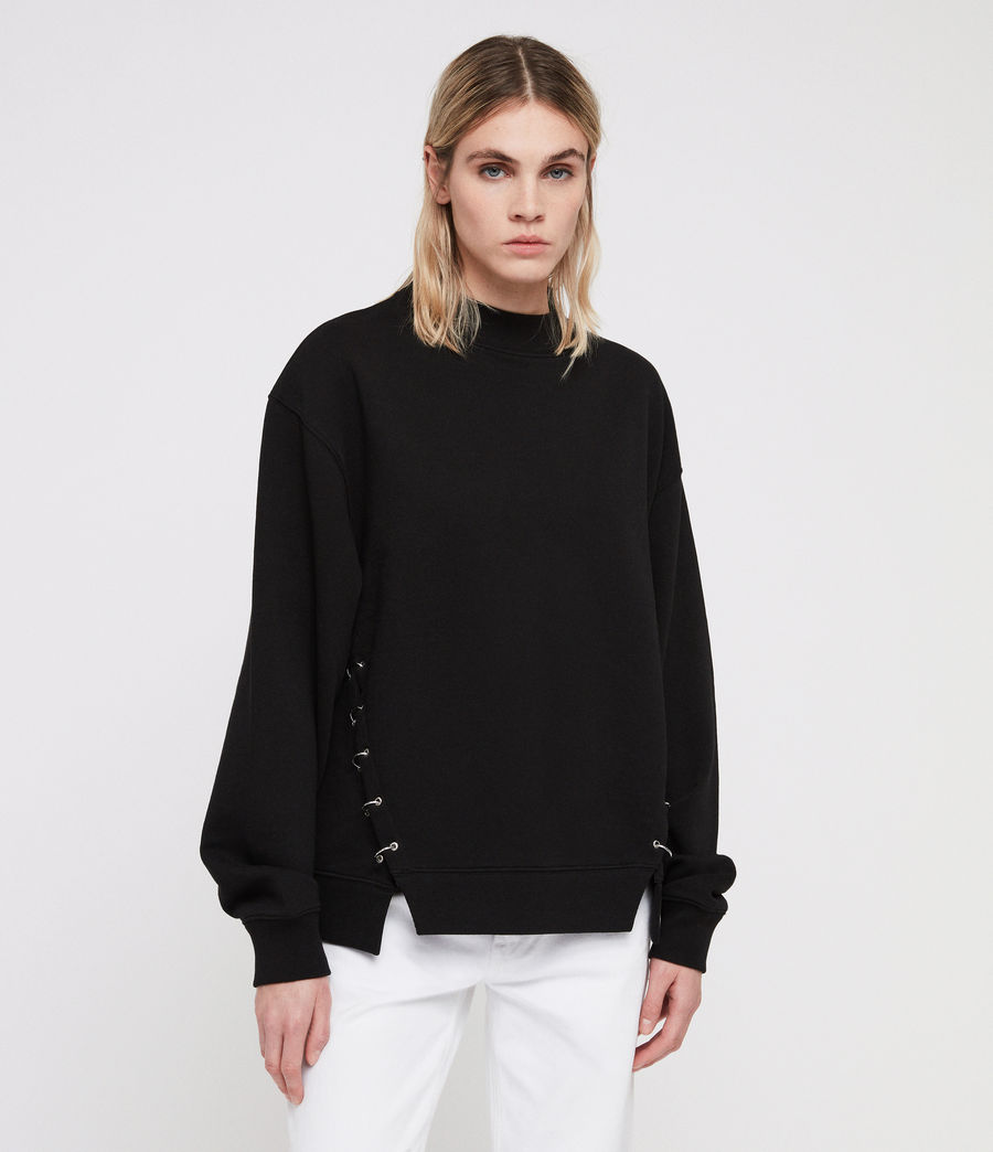 Femmes Sweat Mora (black) - Image 1