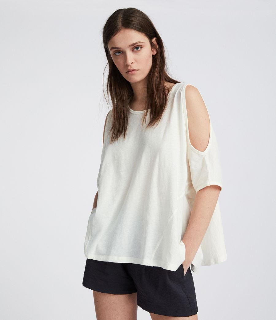 Damen Ella Fifi T-Shirt (chalk_white) - Image 1