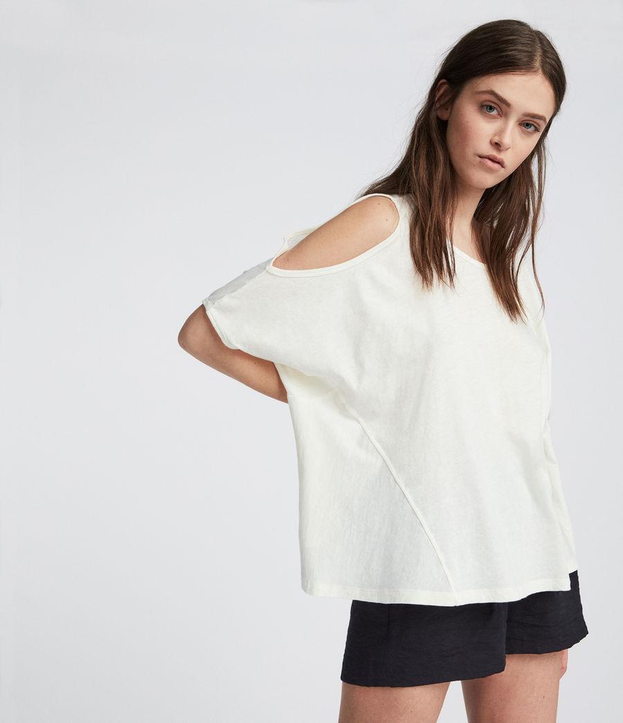 Damen Ella Fifi T-Shirt (chalk_white) - Image 2