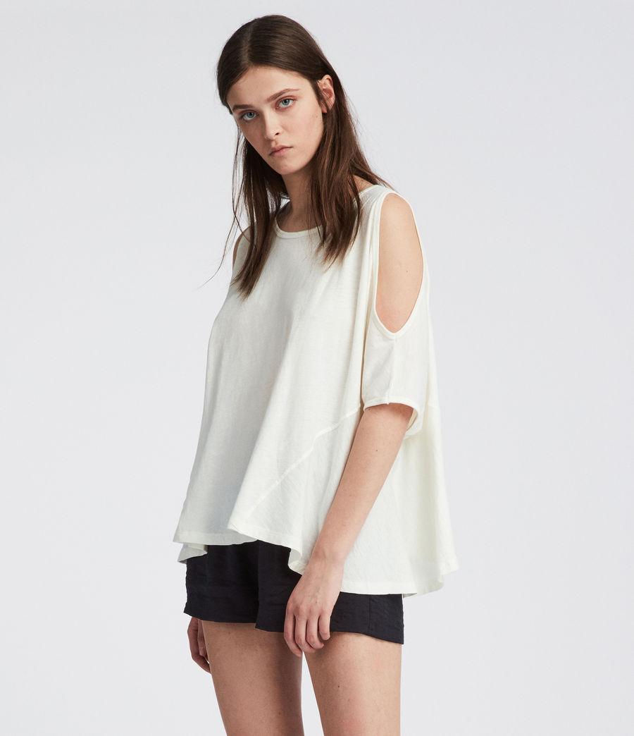 Damen Ella Fifi T-Shirt (chalk_white) - Image 3