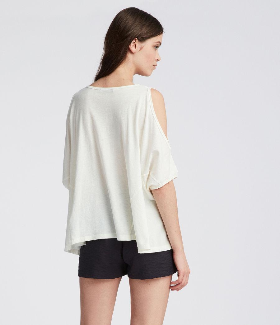 Damen Ella Fifi T-Shirt (chalk_white) - Image 4