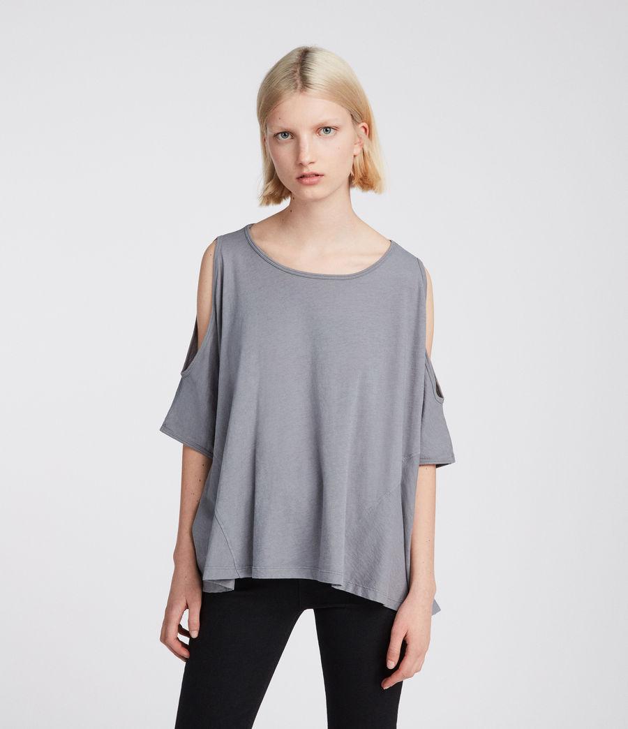 Womens Ella Fifi T-Shirt (storm_grey) - Image 1