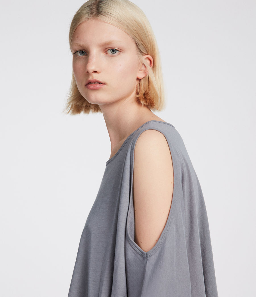 Womens Ella Fifi T-Shirt (storm_grey) - Image 2