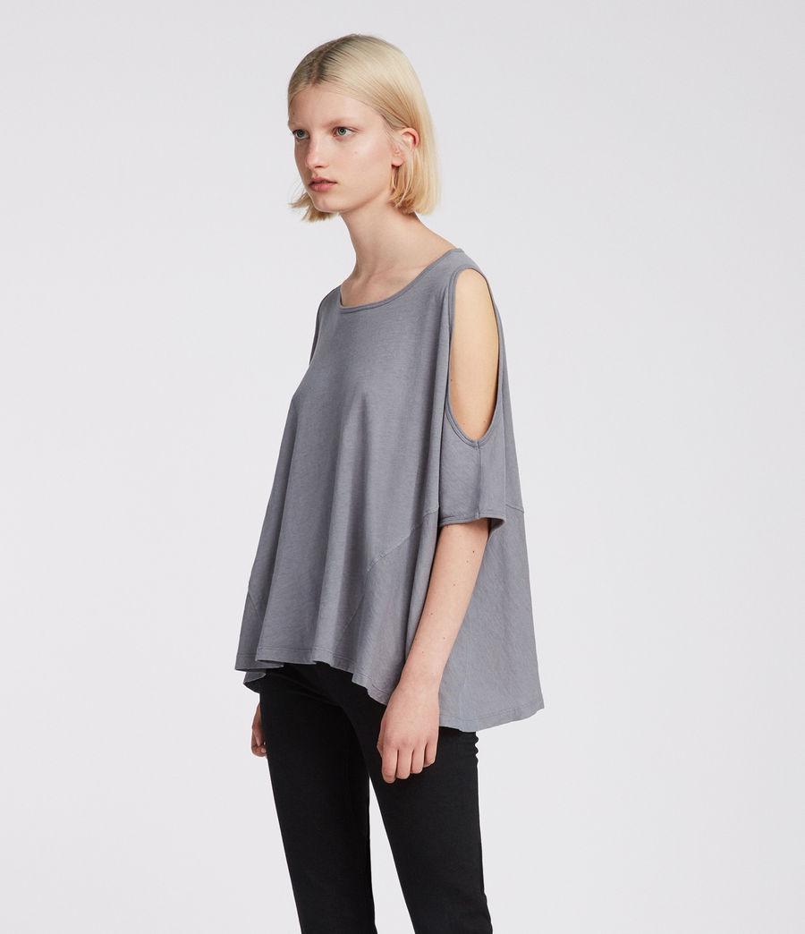 Womens Ella Fifi T-Shirt (storm_grey) - Image 3