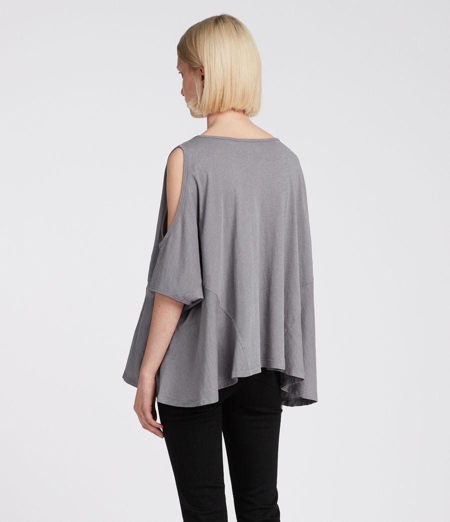Womens Ella Fifi T-Shirt (storm_grey) - Image 4