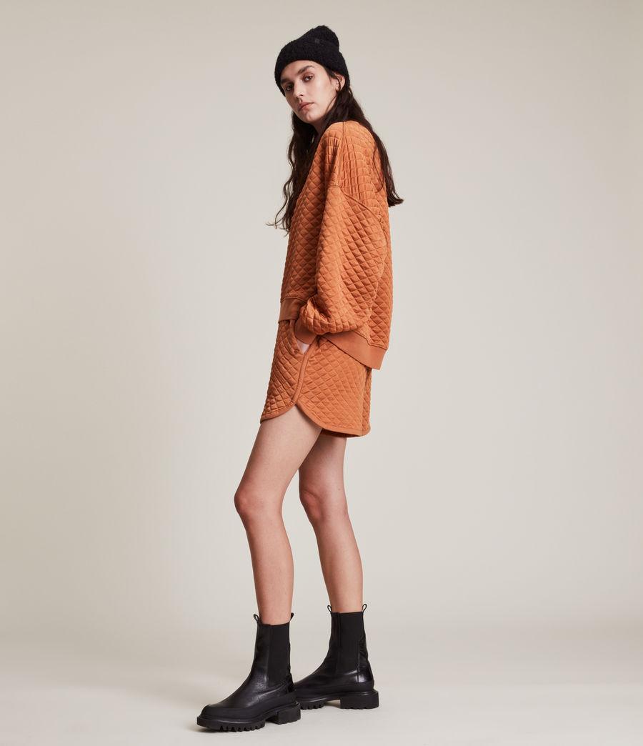 Womens Vela Sweatshirt (rust_orange) - Image 4