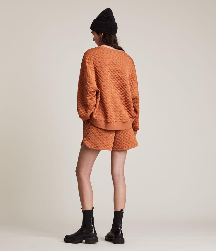 Womens Vela Sweatshirt (rust_orange) - Image 5
