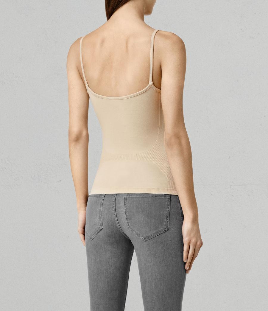 Mujer Camiseta sin tirantes Bri (taupe) - Image 3