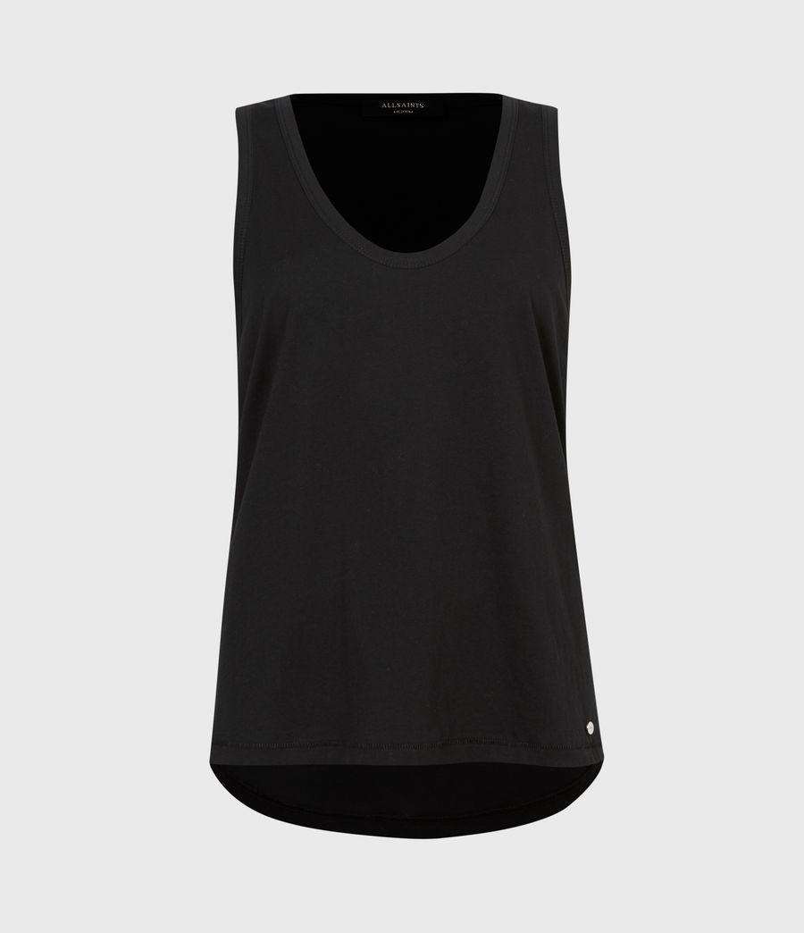 Women's Rosanne Tank (black) - Image 2