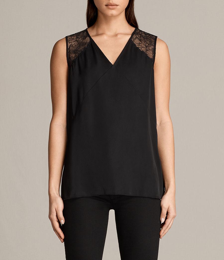Mujer Top Prism (black) - Image 1