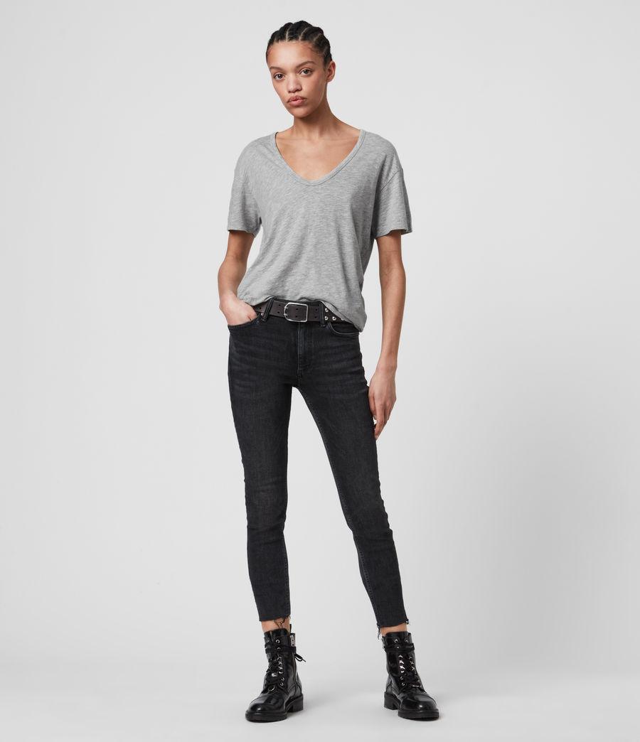 Womens Mia Fifi T-Shirt (grey_marl) - Image 3