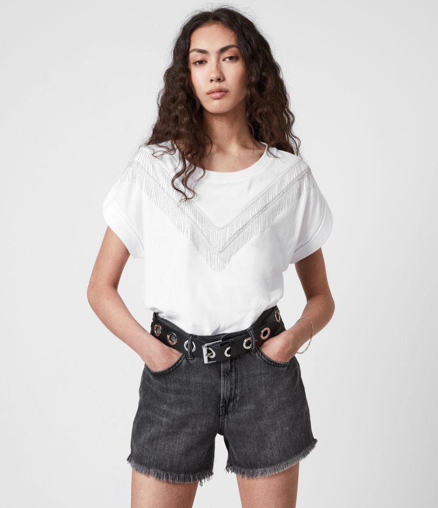Women's Imogen Boy Chain T-Shirt (optic_white) - Image 1