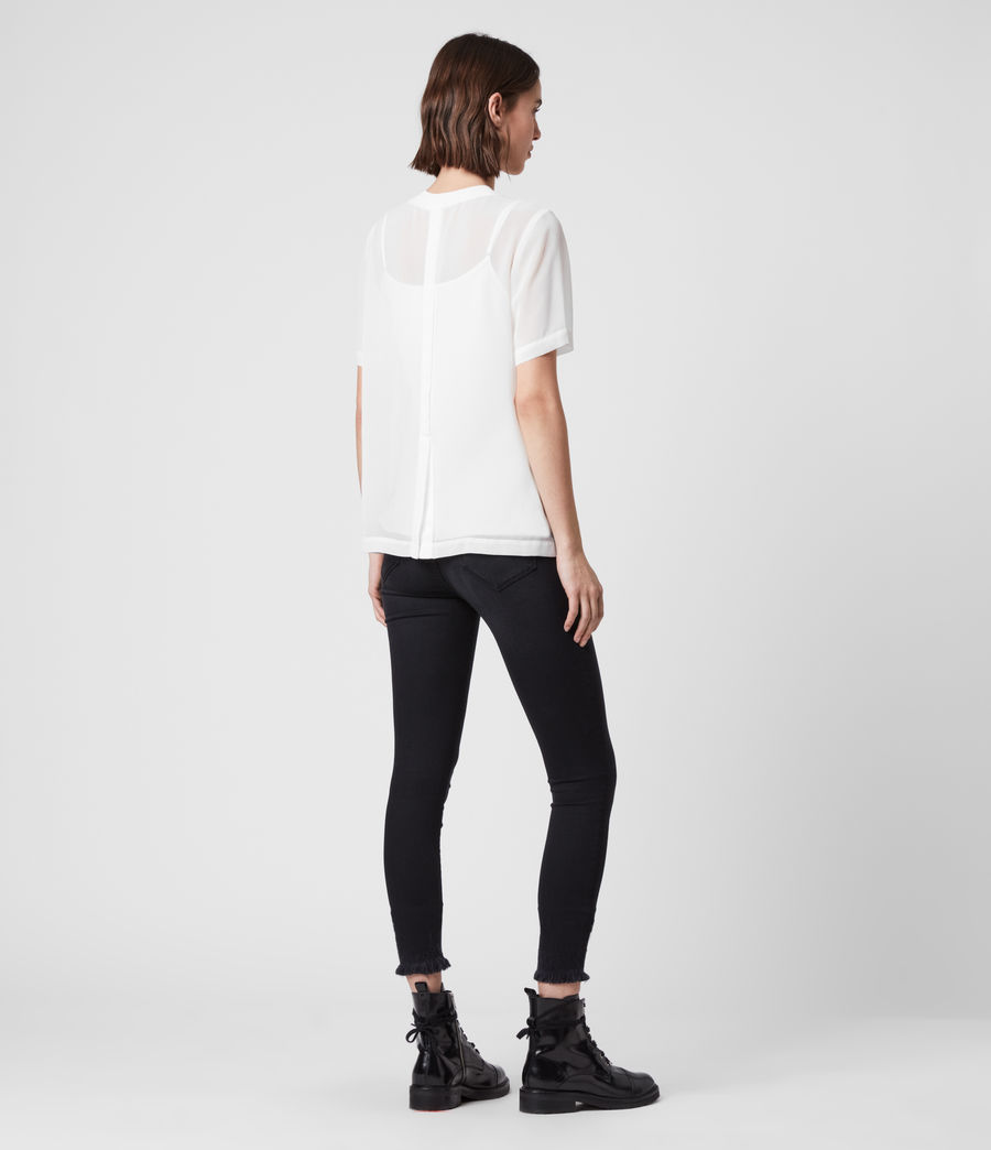 Women's Trace Top (chalk_white) - Image 5