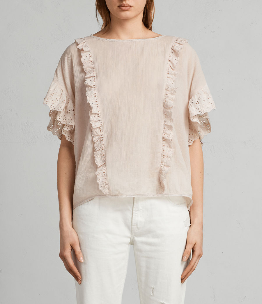 Donne T-shirt Isa (pale_pink) - Image 1