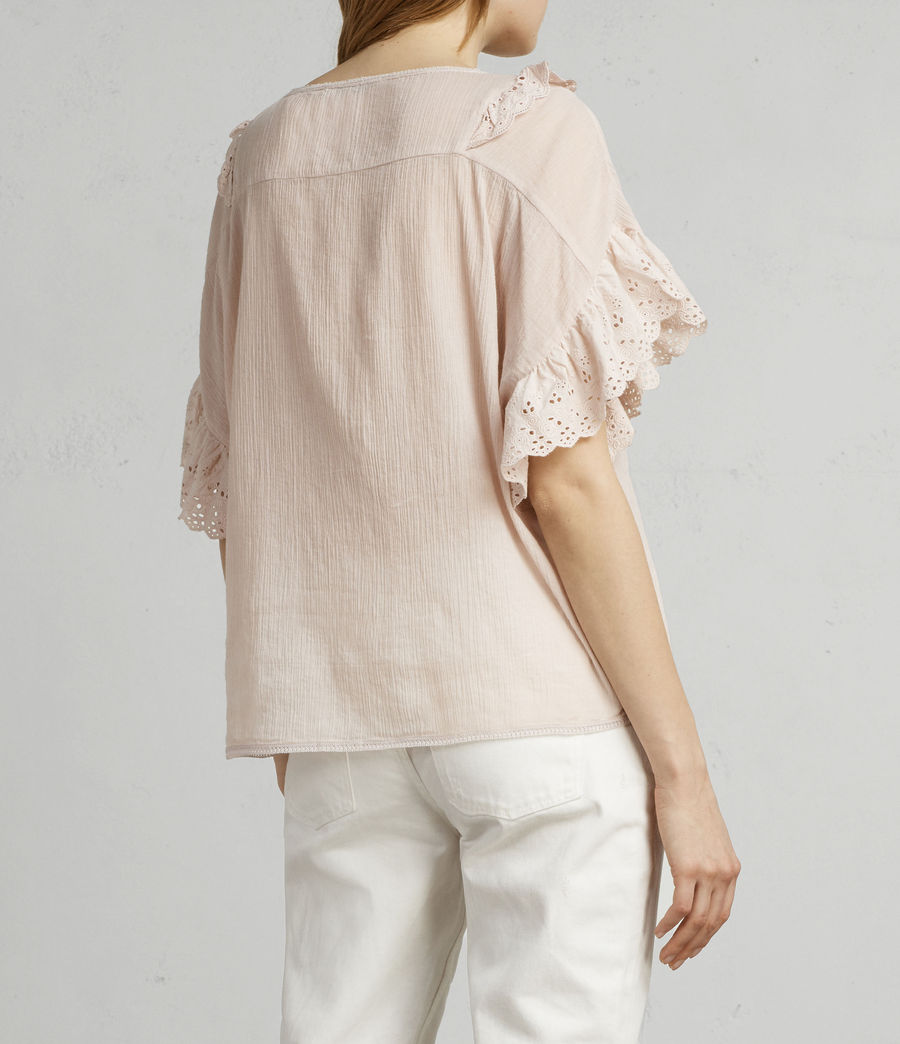 Donne T-shirt Isa (pale_pink) - Image 4