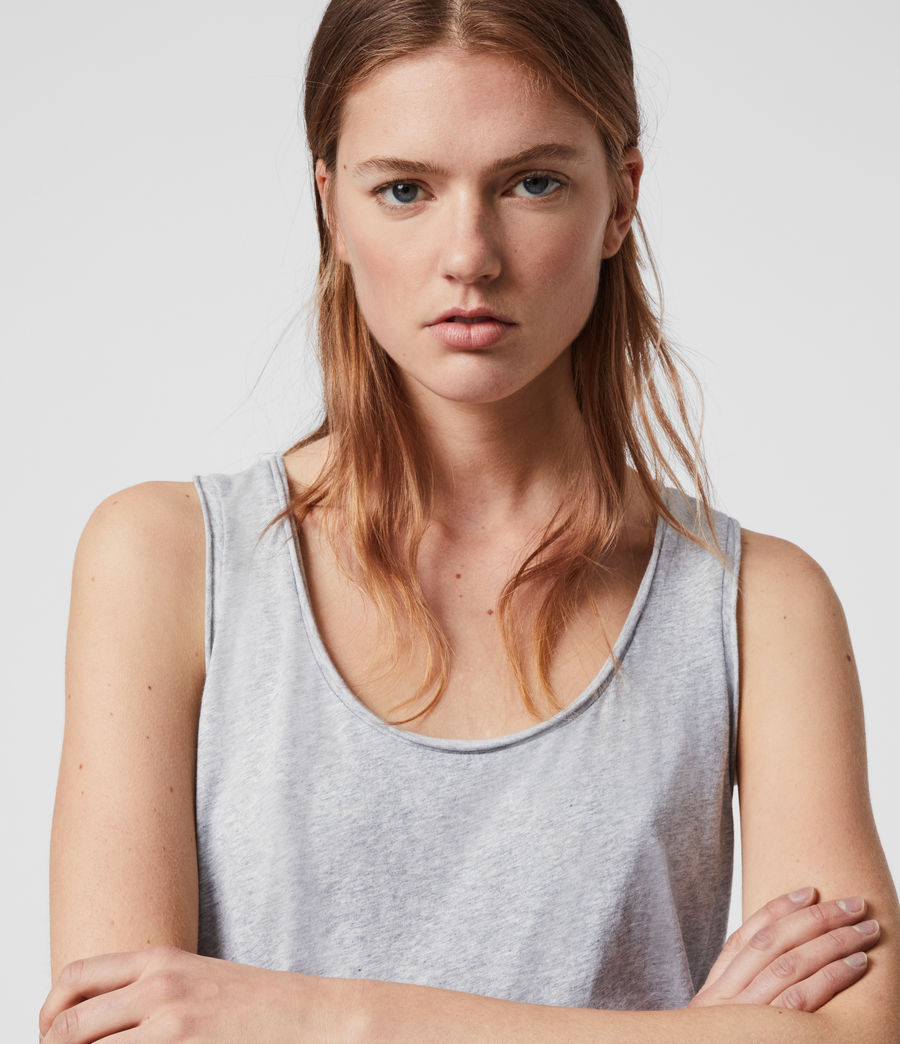Womens Emelyn Tonic Tank (grey_marl) - Image 2