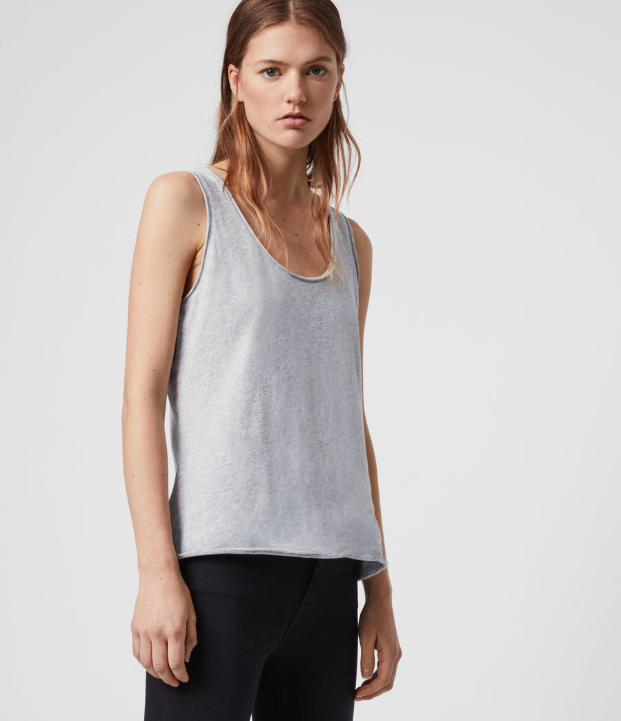 Womens Emelyn Tonic Tank (grey_marl) - Image 4
